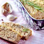 Мясной хлеб из индейки с опятами