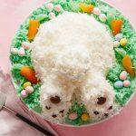 Пасхальный торт «Кроличий хвостик»