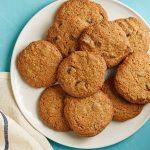 Цельнозерновое печенье с кусочками шоколада