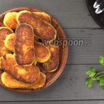 Постные картофельные зразы с грибами на сковороде. Видео-рецепт