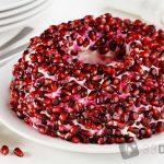 Салат Гранатовый браслет — рецепт