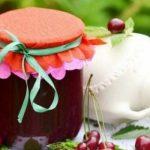 Королевское варенье из вишни и грецких орехов, рецепт с фото